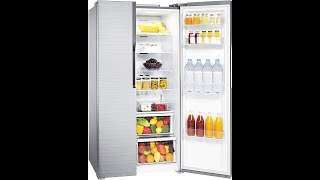 SAMSUNG 591L Frost Free Side by Side Refrigerator RS552NRUA7E, Fair lsle Silver