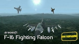 FSX F-16 Fighting Falcon (General Dynamics)- USAF multirole jet fighter aircraft