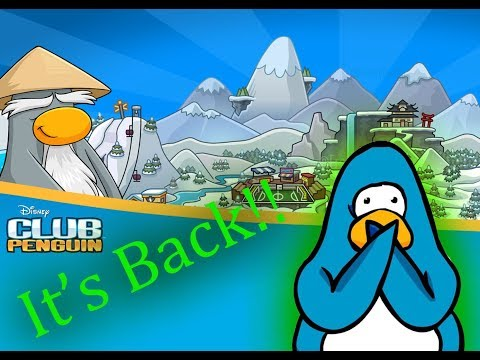 Club Penguin Is Back!!