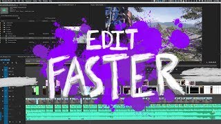 One of Leftcoast's most viewed videos: How to Edit Faster with this Dead Simple Trick in Premiere Pro (double your editing speed)