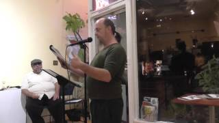 Ghost Town Poetry Open Mic 10-8-15 Featured Reader Sarah Webb Video 3