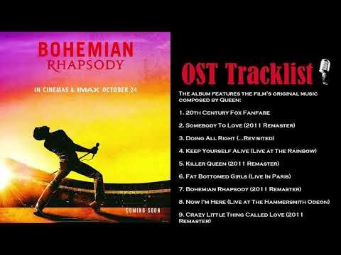 퀸 보헤미안 랩소디 OST 전곡 - Bohemian Rhapsody (The Original Soundtrack) Full 2019