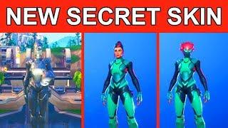*MAX* ALL 3 STAGES UTOPIA SKIN! NEW SINGULARITY SECRET SKIN! FORTNITE SKIN SHOWCASE