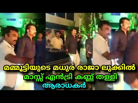 Mammootty Mass Entry In Madhura Raja Look || Madhura Raja || മമ്മുക്ക പൊളിച്ചു !!!!