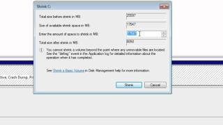 How to Partition a Windows 7 Hard Drive