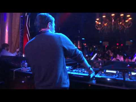 "Alesso - Live @ XS Las Vegas 2-3-12 - ""Calling Lose My Mind"" & More - DJ Booth View"