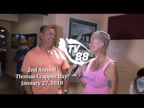 2nd Annual Thomas Crapper Day January 27, 2018 at Overseas Pub & Grill
