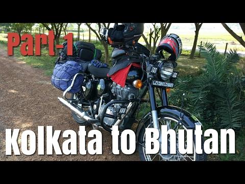 Kolkata to Bhutan || Bike tour || Part-1 || ROA