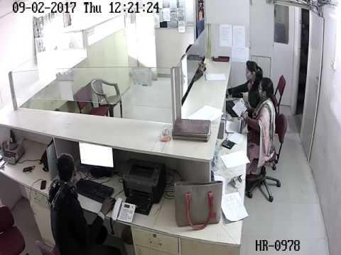 CCTV. Of Gurgaon Gold Loot @ Manipuram Gold Loan