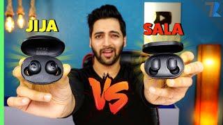 JIJA VS SALA 😂 - realme Buds Q vs Redmi Earbuds S 💪| Kaun hai Sabse Pyara 😍😍!