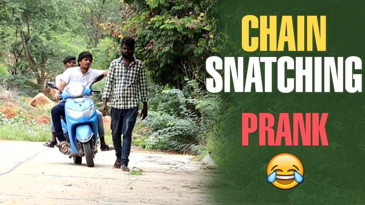 prank || chain snatching 😂