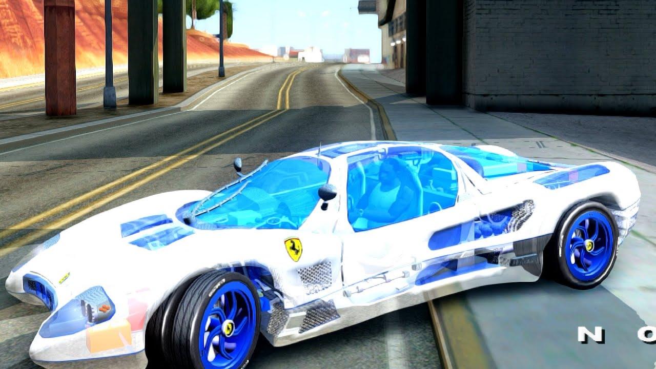 Ordinaire Ferrari P7 Crystal Lake   GTA San Andreas