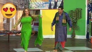 Amanat Chan, Zafri khan and Khushboo new Funny Pakistani stage drama 2018
