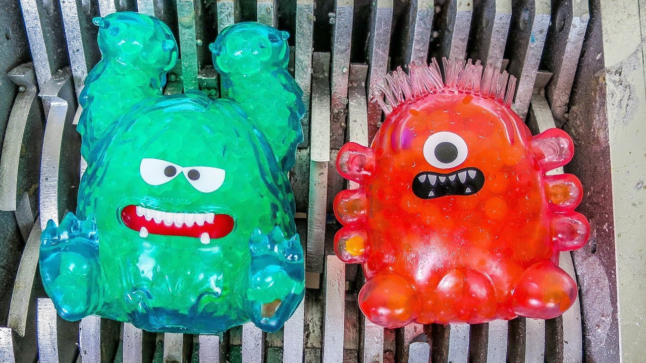 Bubbleezz Toys Shredded Squishy Toys And Orbeez Toys Destroyed Whats Inside Slime Squishy Toys