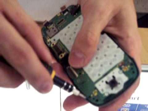 Sidekick 3 Full Dissasemly for repair T-Mobile Danger Tutorial