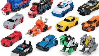 Transformers Robots in Disguise Adventure RID Optimus Prime Bumblebee 1 Step  Vehicle Robot Car Toys