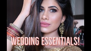Wedding Essentials! | DRUGSTORE products | Nykaa Sale Haul | Malvika Sitlani