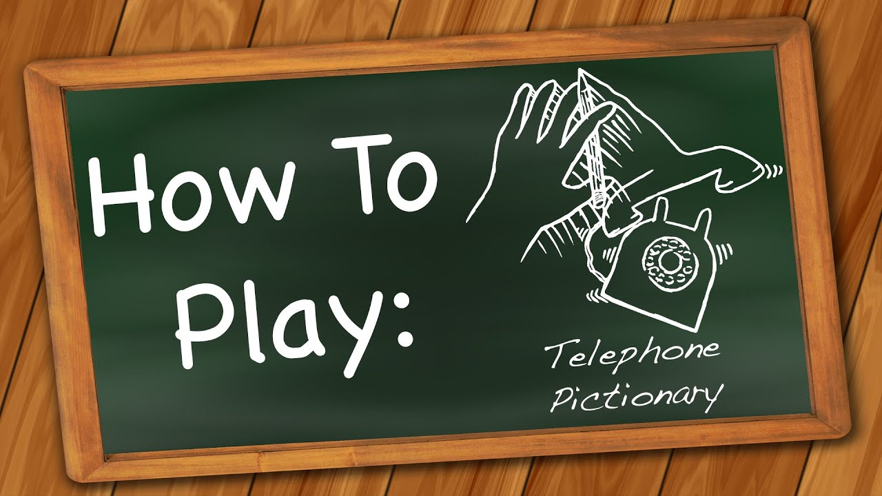 How to Play: Telephone Pictionary - YouTube - photo#41