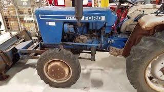 [DIAGRAM_4FR]  1978 Ford Tractor - 2 Cylinder Diesel - YouTube | 1984 Ford Tractor 1700 Wiring Diagram |  | YouTube