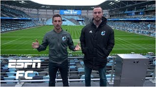 Minnesota United FC's Ethan Finlay and Brent Kallman give ESPN an all access tour of Allianz Field from the locker rooms to the field and the state of the art ...