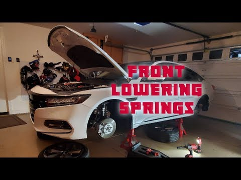 Just a Honda Accord Episode 8 Front Lower Springs Install