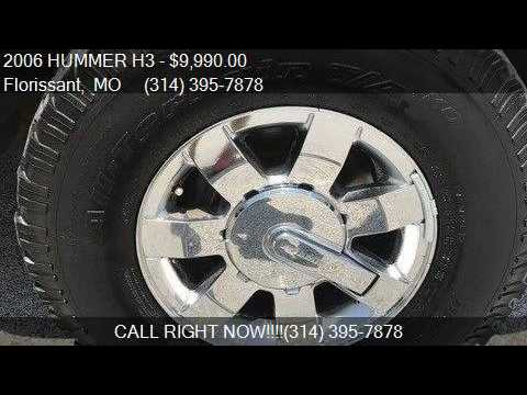 2006 Hummer H3 Base 4dr Suv 4wd For Sale In Florissant Mo