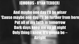 One Day - Logic & Ryan Tedder (LYRICS) [4k]