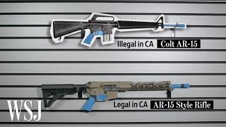 How Gunmakers Tweak Rifles to Get Around Assault Weapon Bans   WSJ