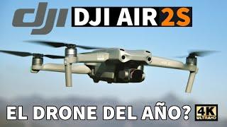 Dji AIR 2S - Test de Vuelo ✅ DJI FLY 1.4.8 . Problemas APP. Que Hacer?  Asturias desde el Aire.