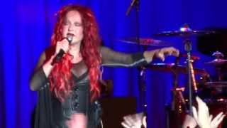 Cyndi Lauper - Beautiful and emotional.....Cyndi cries as she performs Time After Time-  Canberra