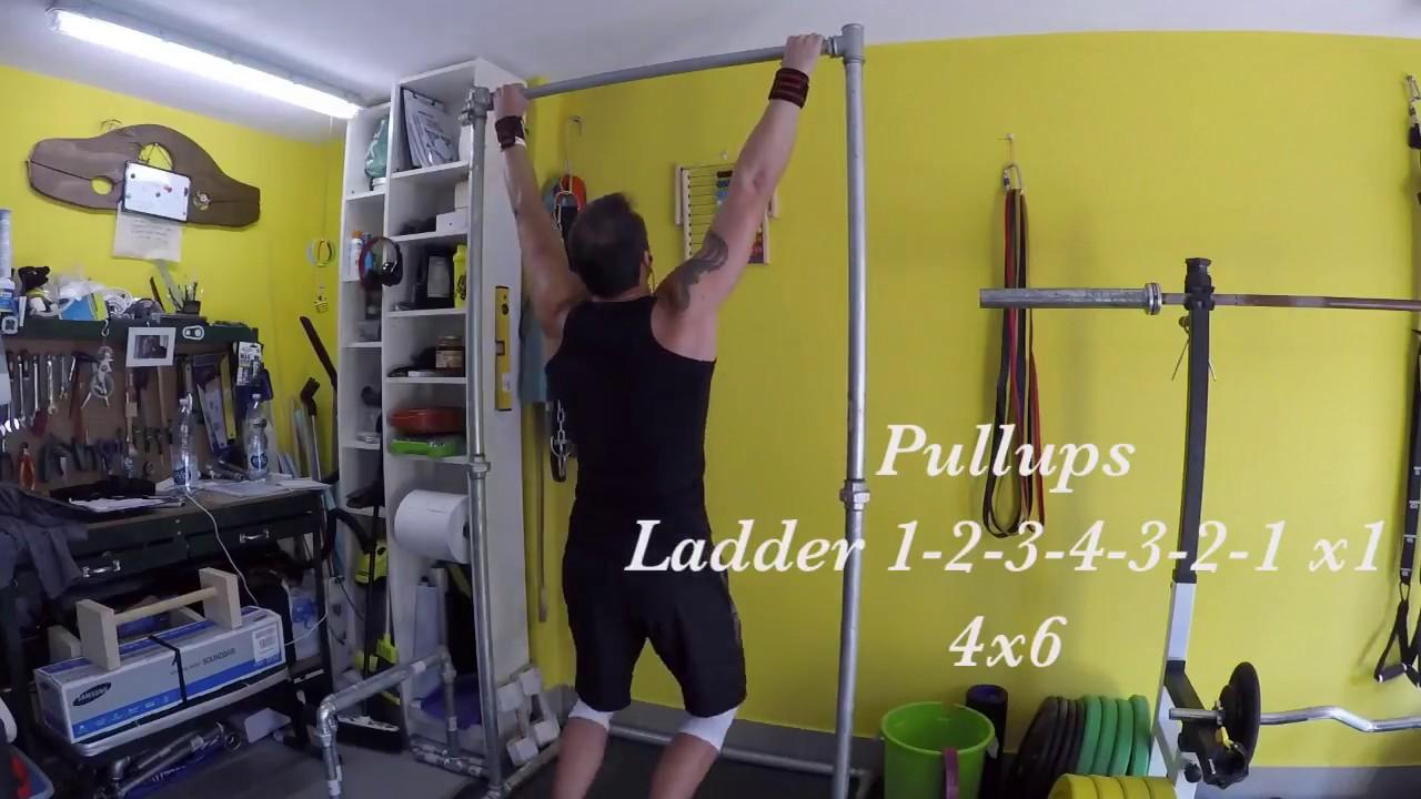First garage gym training 10 11 2017 calisthenic basics youtube