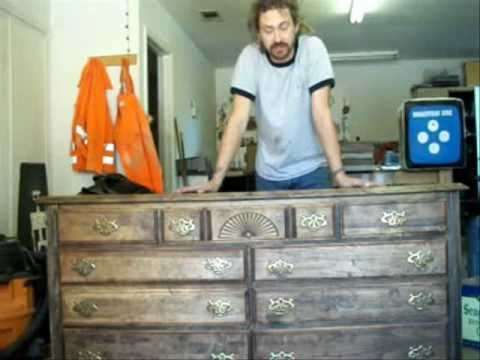 Distressed Dresser   YouTube