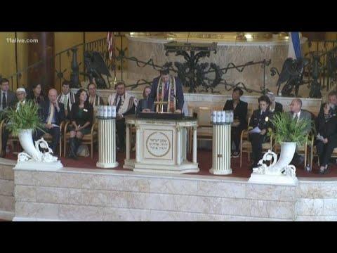 Atlanta religious, civil leaders honor Pittsburgh Synagogue shooting victims