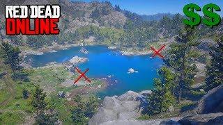 2 spots d'ARGENT tranquilles ! - Red Dead Online