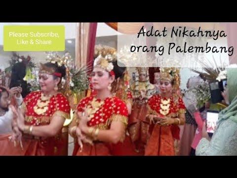 Pernikahan adat Palembang - Gending Sriwijaya