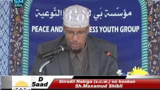 Siiradii Nabiga (صلى الله عليه وسلم ) oo kooban Q 5aad | Sh.Maxamud Shibli | New!!!