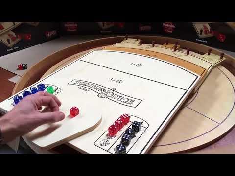 TUMBLIN DICE (Ferti Games) - Technique de Lancer