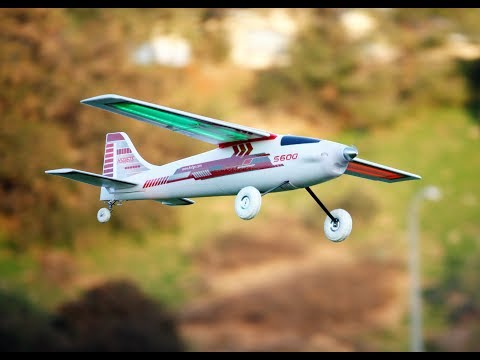 HSD S-600 Best RC Airplane Ever??? In 4k!