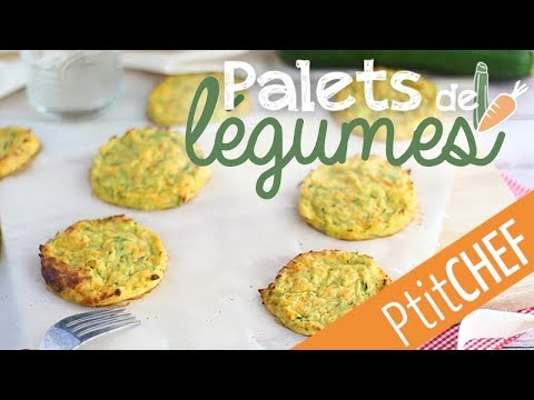 recette-de-palets-de-légumes---ptitchef.com