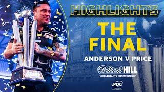 PRICE RULES THE WORLD | Final Highlights | 2020/21 William Hill World Darts Championship