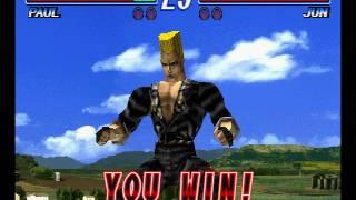 Tekken 2 ( PS1 ) - Paul - Arcade Mode - Original Music ( July 28, 2017 ) thumbnail