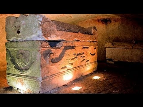 Reptilian  Beings Were Found Inside A Sarcophagus