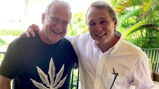 Talking Cannabis progress with Bruce Linton @ CANEX Jamaica