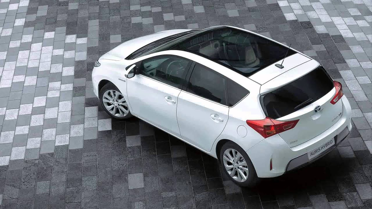 2014 toyota auris toyota auris hybrid youtube. Black Bedroom Furniture Sets. Home Design Ideas