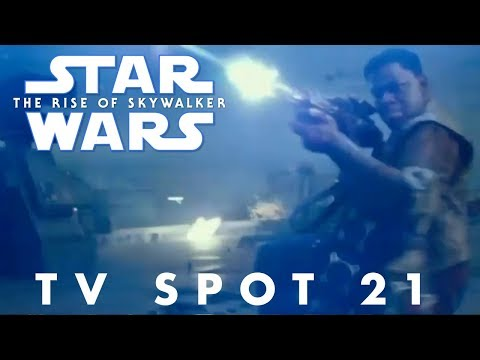 Star Wars The Rise of Skywalker TV Spot Trailer 21 (NEW FOOTAGE)