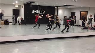 BTS IDOL Sunday WKPOP dance class part 1 Group 3