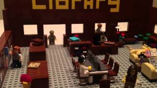 Lego Library: A Short Movie
