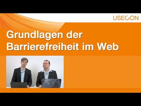 USECON Experience Webinar: Grundlagen der Barrierefreiheit im Web