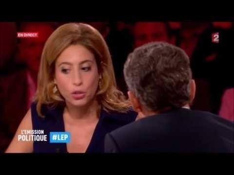 L'ÉMISSION POLITIQUE : Le corps à corps Nicolas Sarkozy vs Lea Salamé 15/09/2016 ✶37