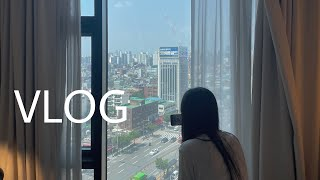 [ VLOG ]시험 브이로그 | 서울 브이로그 | 대학…